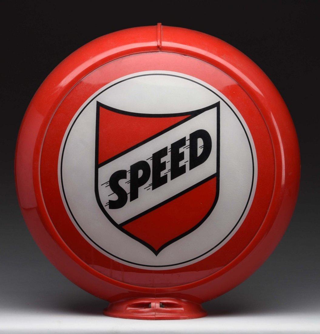"""Speed (Bay) 13-1/2"""" Globe Lenses. - 2"""