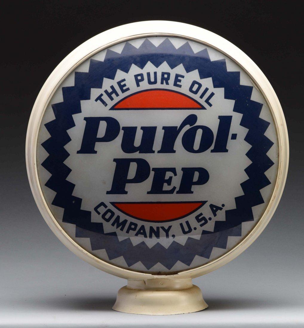 "Purol-Pep 15"" Globe Lenses. - 2"