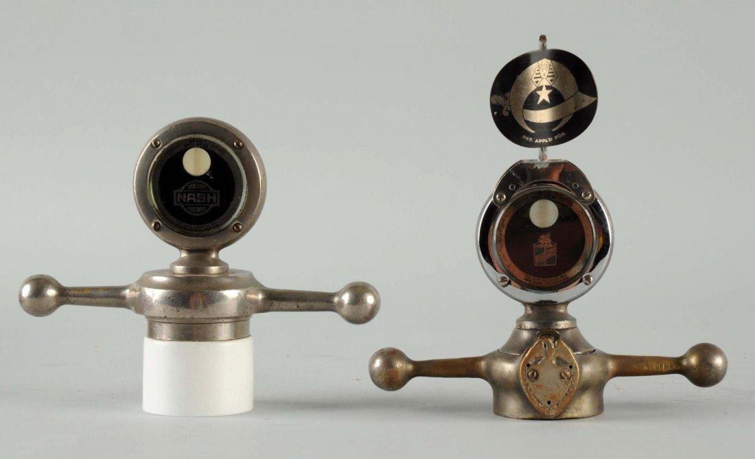 Lot of 2: Nash & Durrant Motometers.
