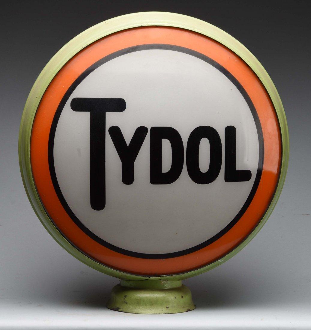 "Tydol 16-1/2"" Globe Lenses."