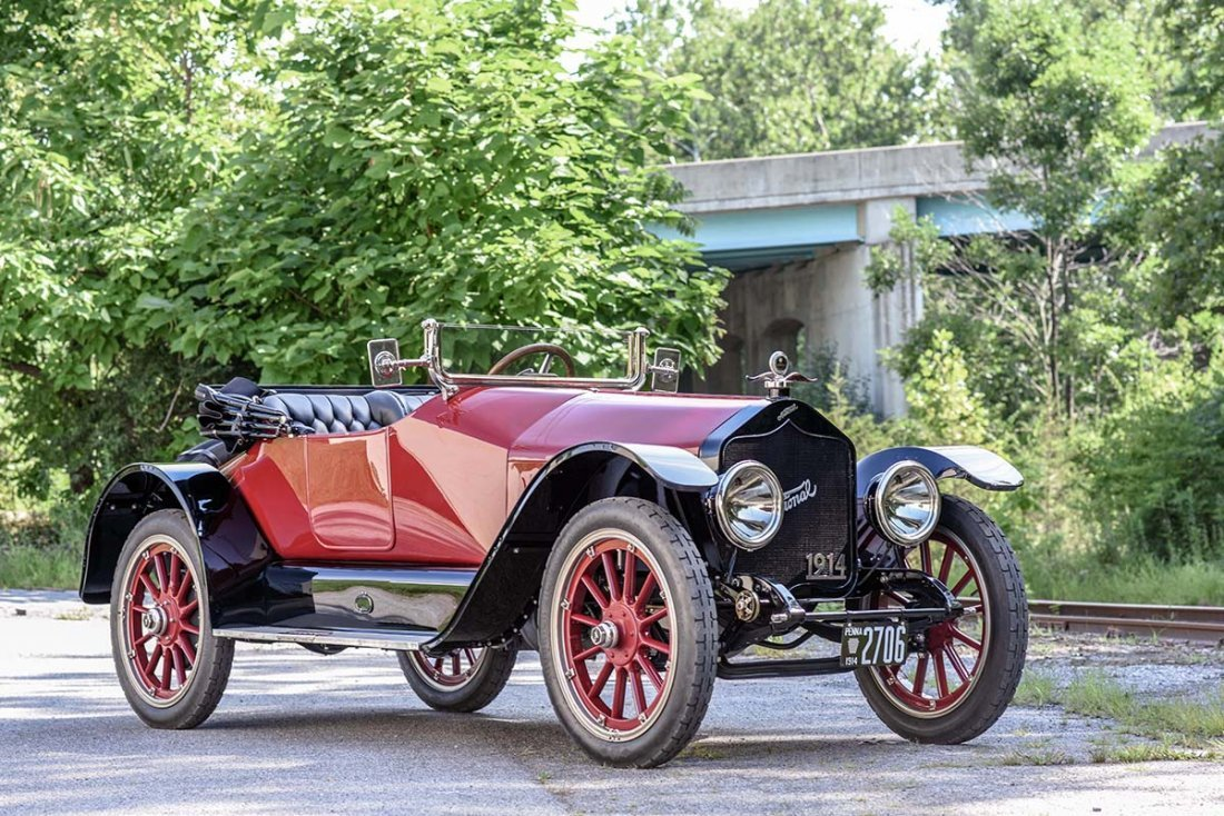 1914 National 6-W Roadster.