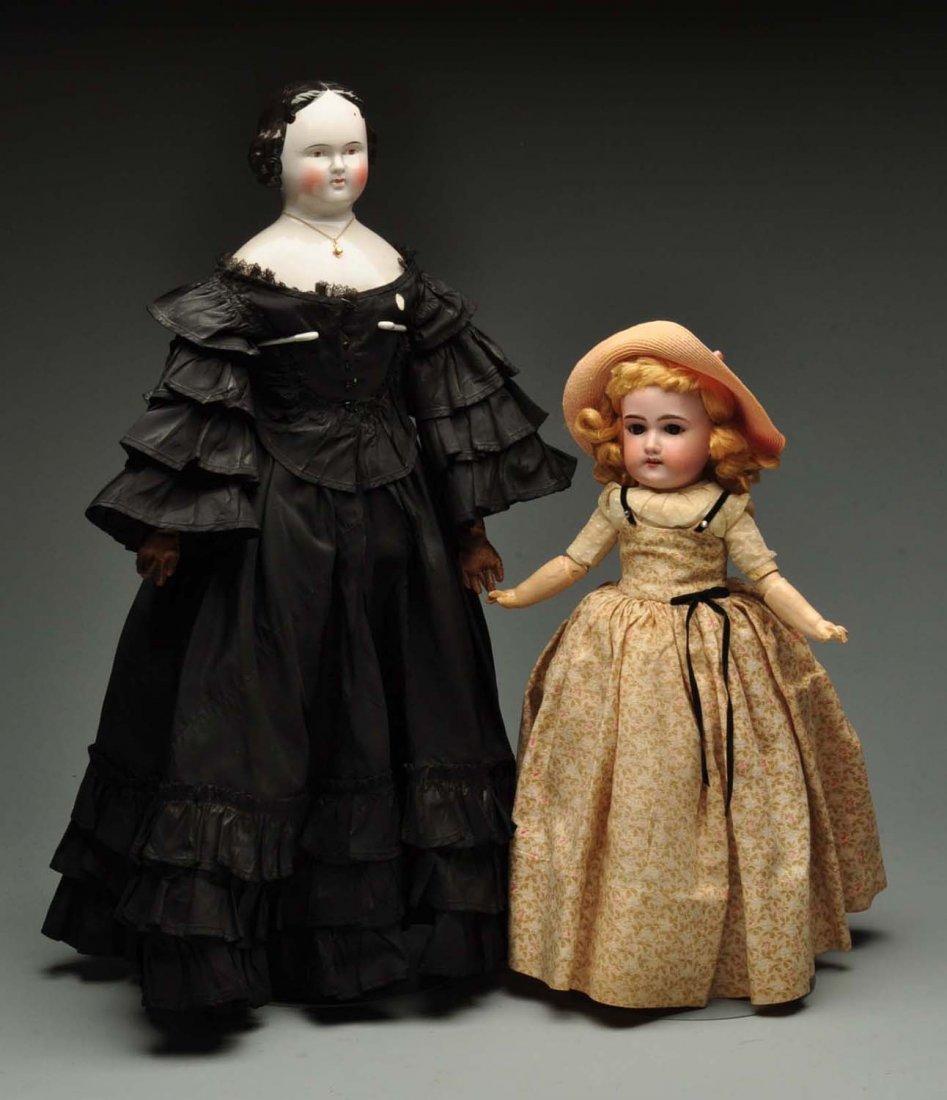 Lot Of 2: Dolls.