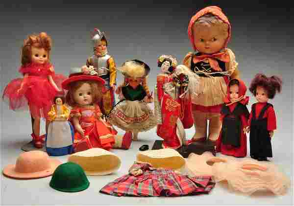 Lot Of Modern Dolls.