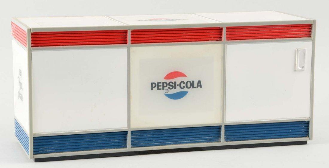 Pepsi Plastic Cooler Radio.
