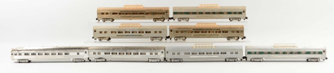 Lot of 8: American Flyer Passenger Cars.
