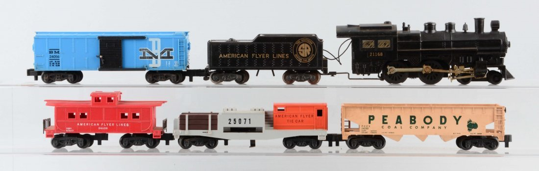 American Flyer 21168 Freight Set.