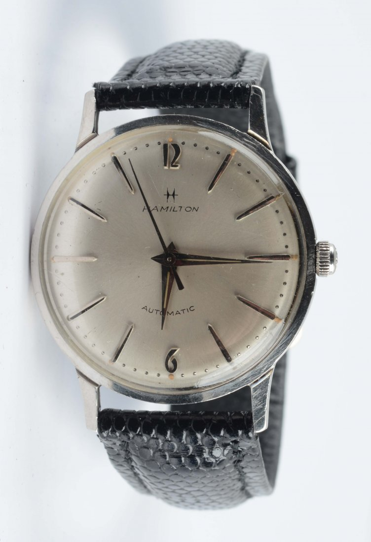 Hamilton Automatic Stainless Steel Wrist Watch