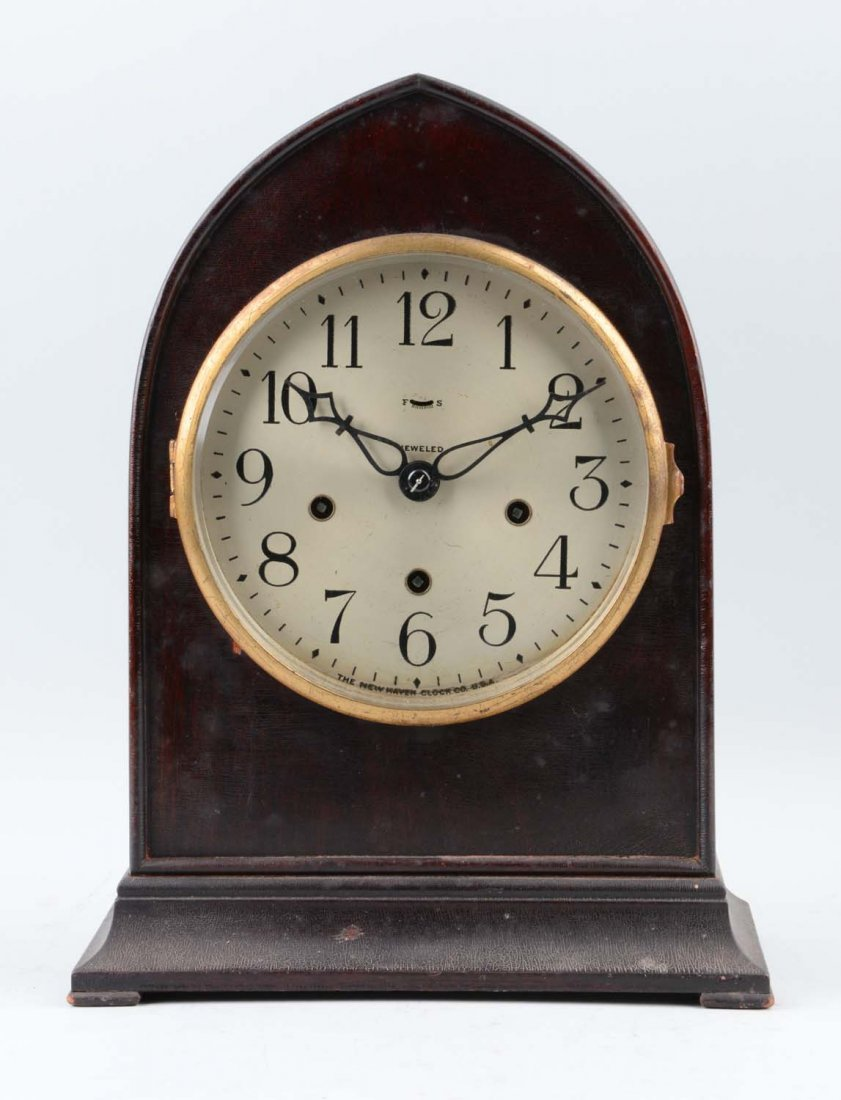 New Haven Westminster Chime Mantle Clock