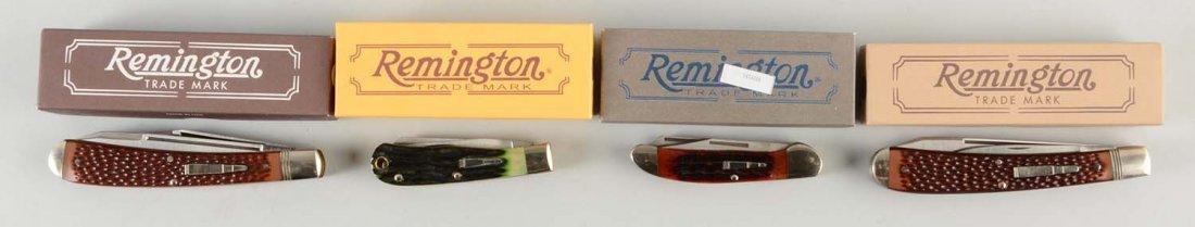 Lot Of 4: Remington U.M.C. Modern Folders.