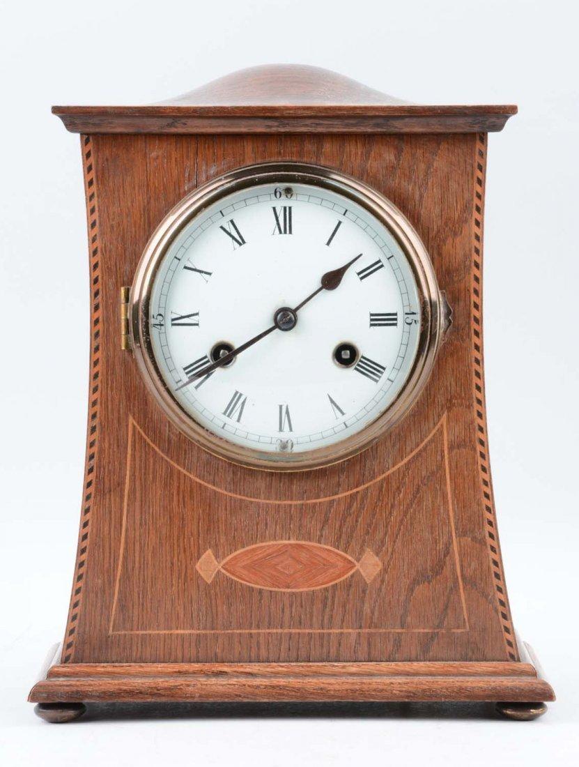 German Philip Haas & Son Hump Top Clock