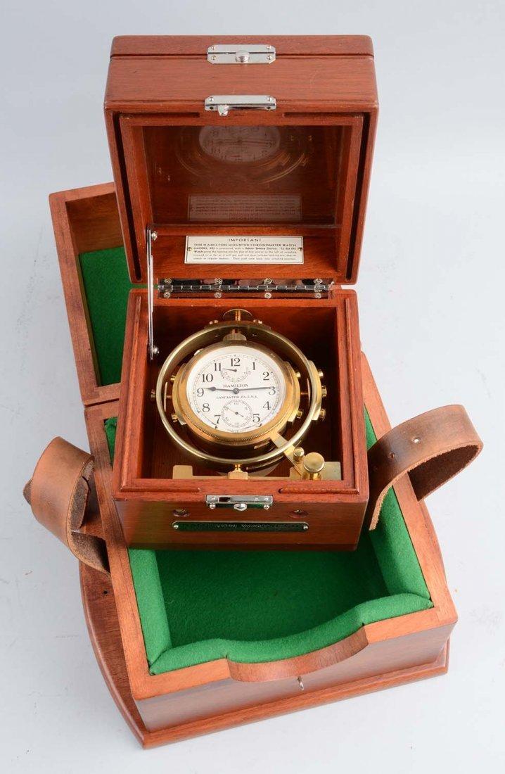 Hamilton Chronometer Model 22 Ship Clock