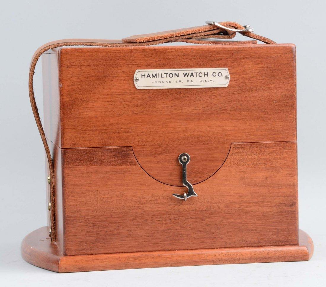Hamilton Chronometer Model 22 Ship Clock - 2