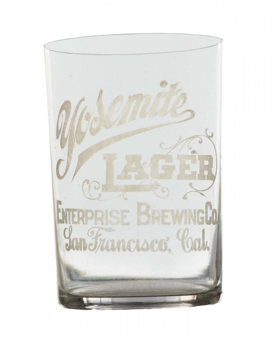 Yosemite Brewing Lager Glass