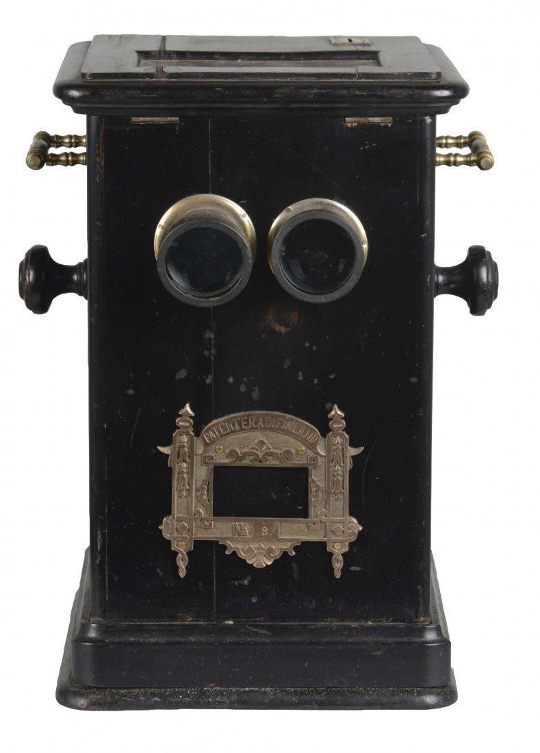 Coin-Op Countertop Flip Card Viewer Stereoscope