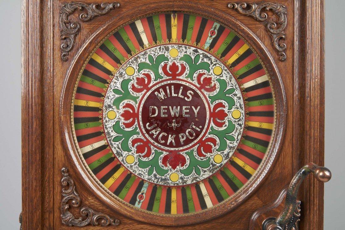 **25¢ Mills Dewey Jackpot Musical Slot Machine - 3