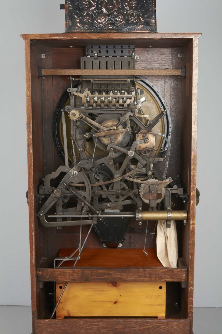 **25¢ Mills Dewey Jackpot Musical Slot Machine - 8