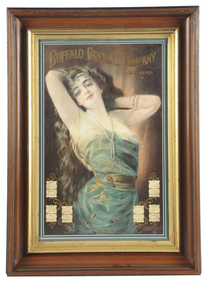 1909 Buffalo Brewing Co. Advertising Calendar
