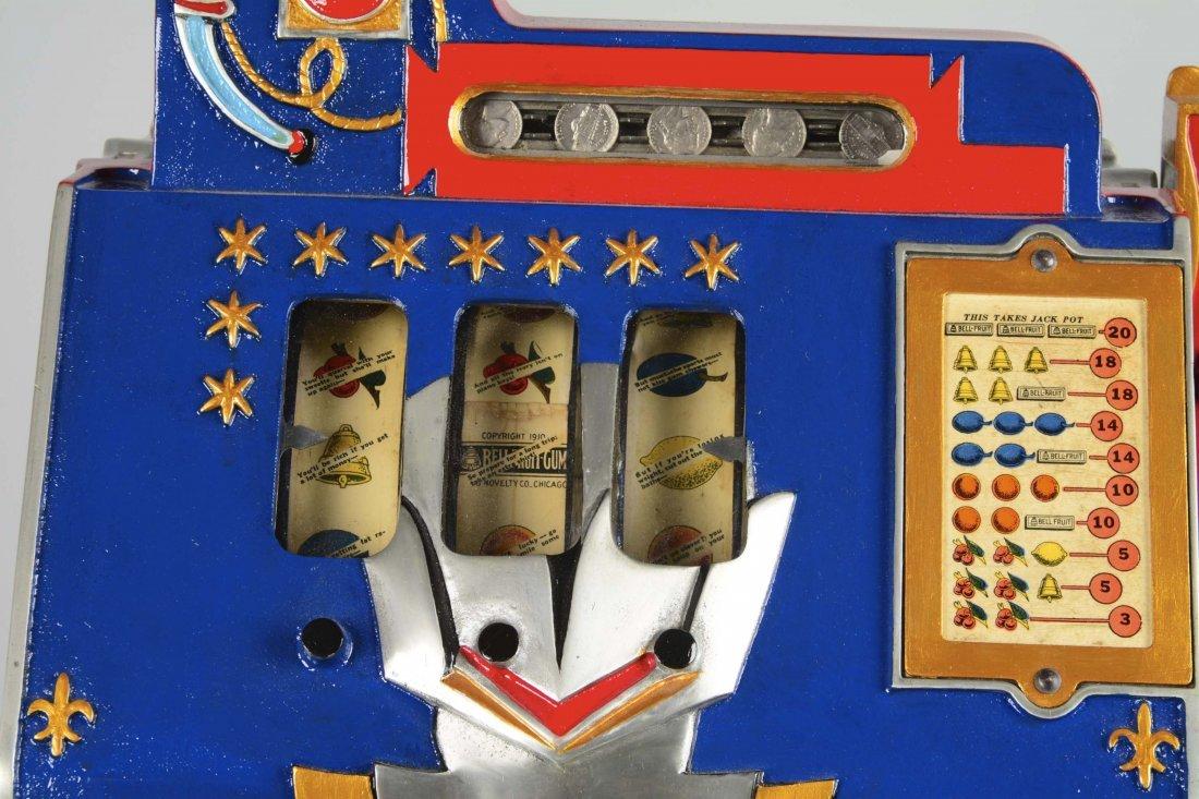 **5¢ Mills Blue Front Gold Award Slot Machine - 2