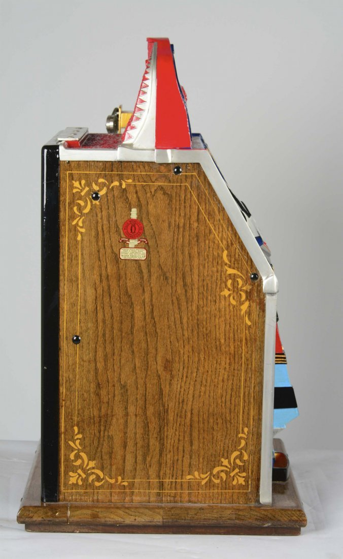 **5¢ Mills Blue Front Gold Award Slot Machine - 5