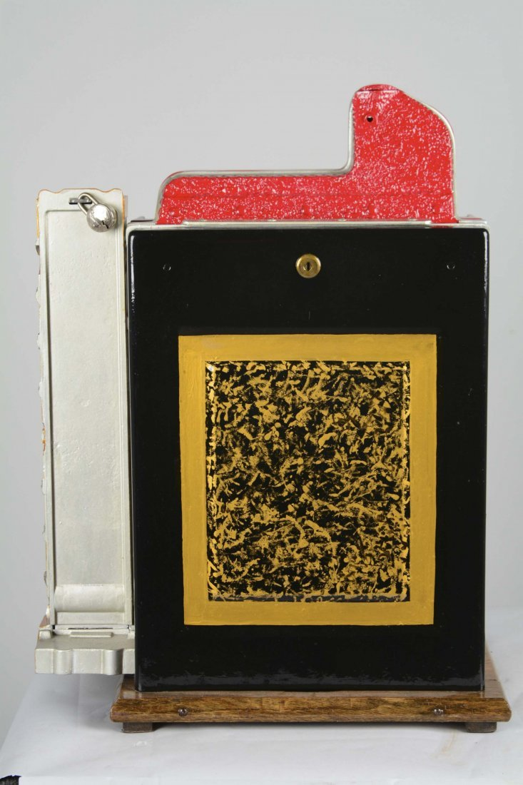 **5¢ Mills Blue Front Gold Award Slot Machine - 6