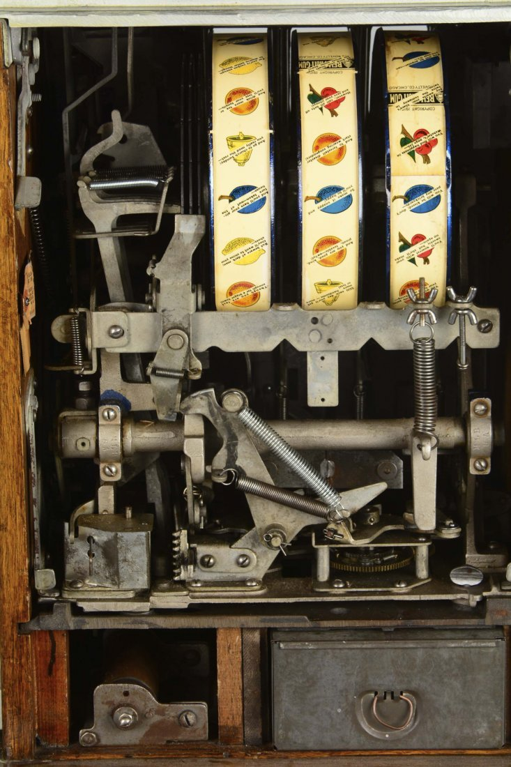 **5¢ Mills Blue Front Gold Award Slot Machine - 8