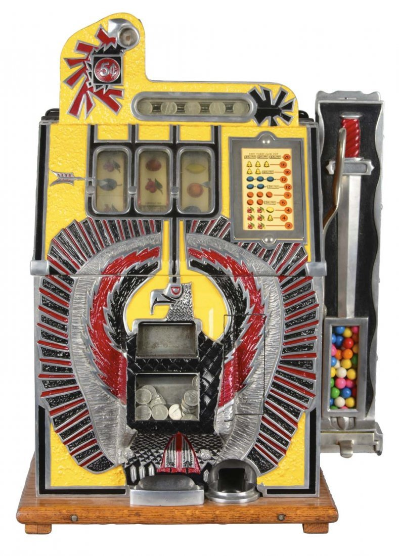 **5¢ Mills War Eagle Slot Machine