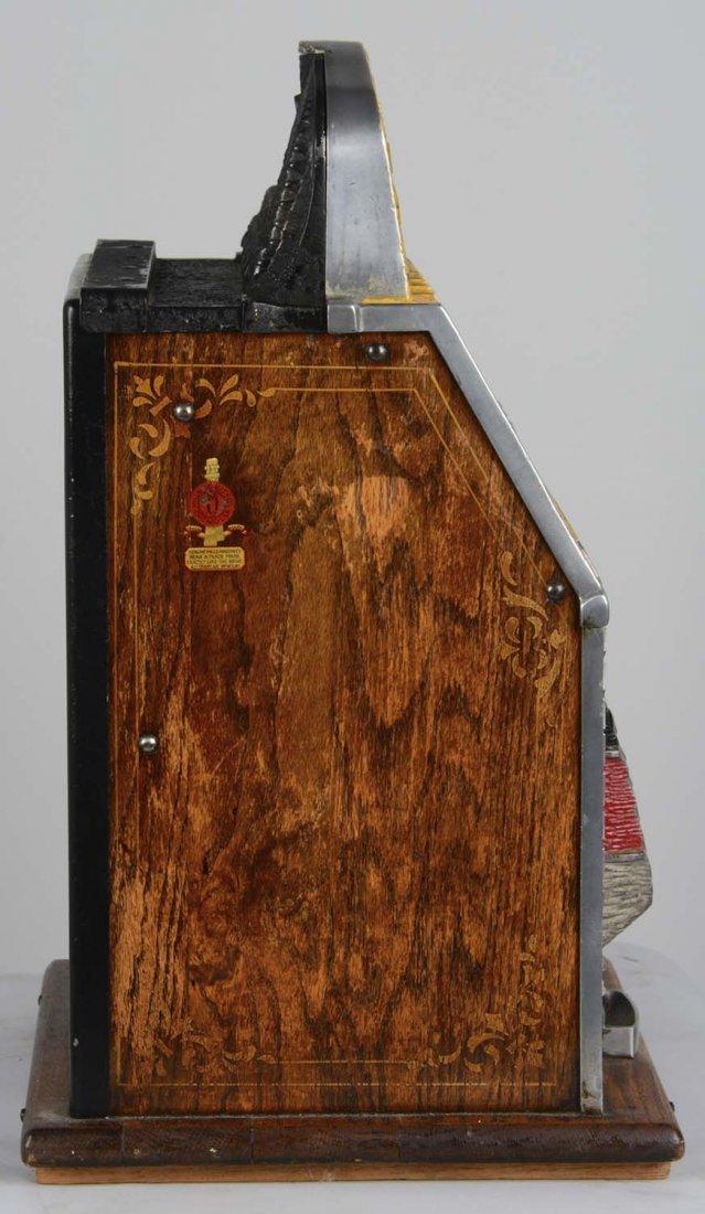 **5¢ Mills Yellow War Eagle Slot Machine - 4