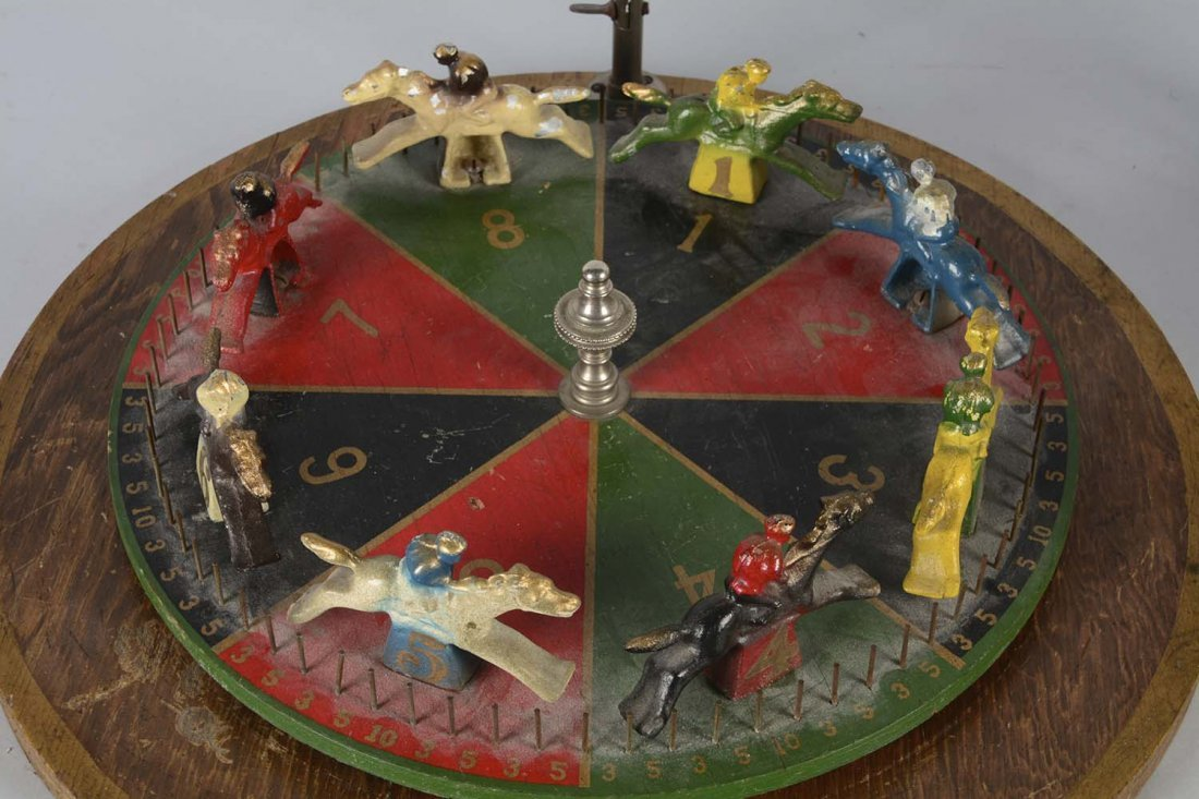 Lot Of 2: Horse Racing Gambling Wheels - 3