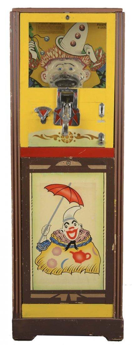 1D Haydon Mfg. Clown Shooter Floor Model Arcade Machine