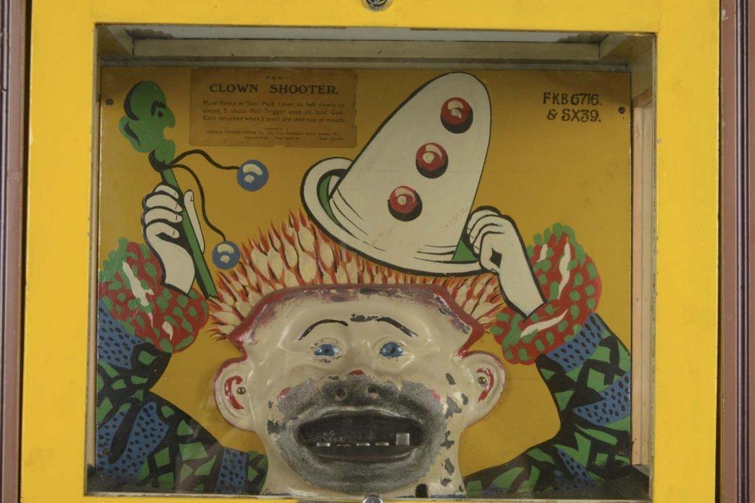 1D Haydon Mfg. Clown Shooter Floor Model Arcade Machine - 2