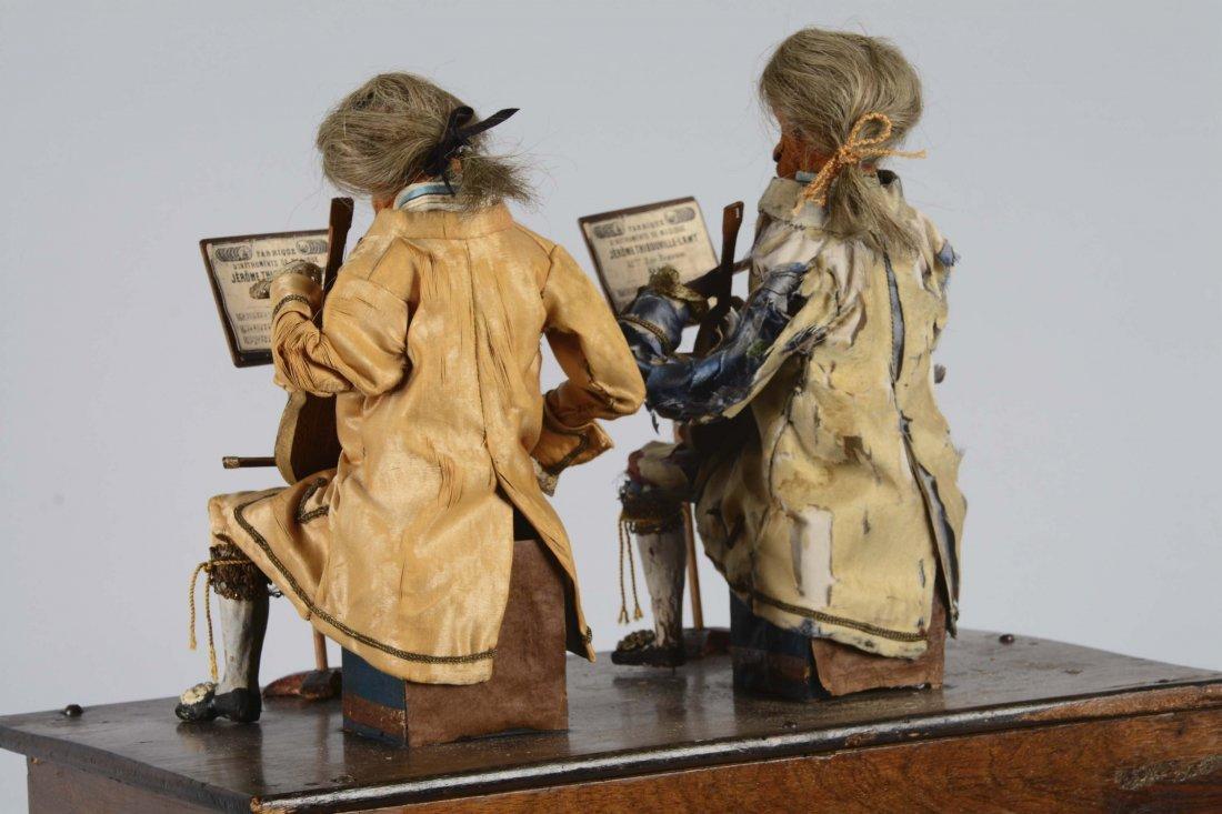 French Barrel Organ With Monkey Automaton - 3