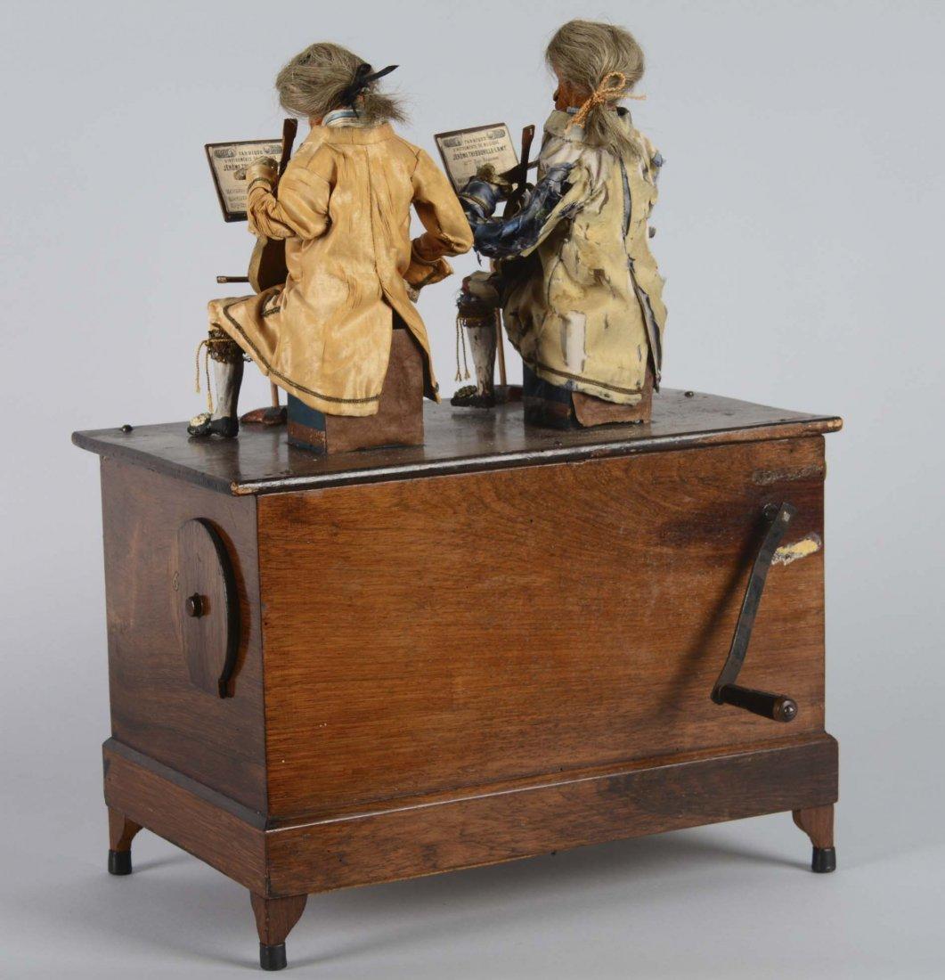 French Barrel Organ With Monkey Automaton - 4