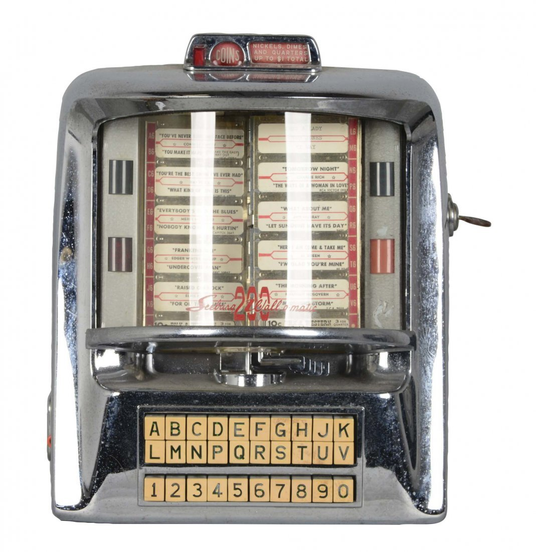 Seeburg 200 Wall-O-Matic Remote Jukebox Selector