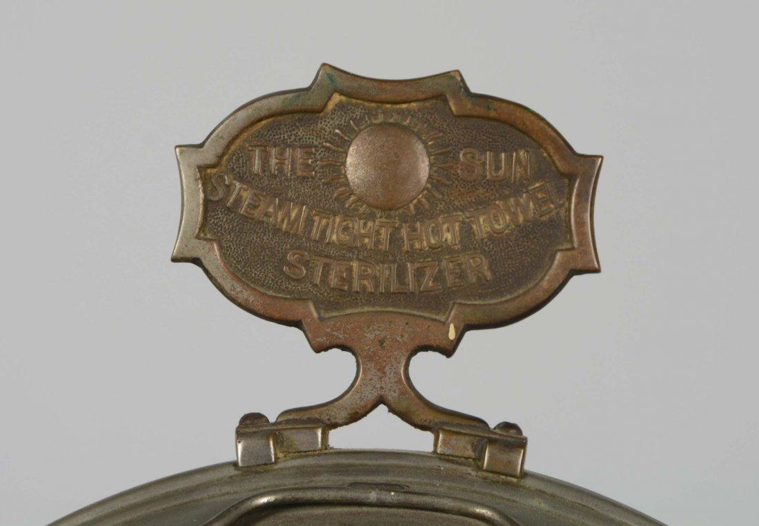 The Sun Barber Shop Towel Steamer Sterilizer - 2