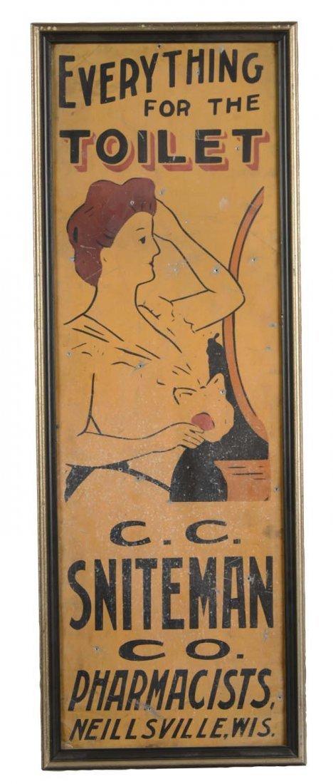 Framed Vintage Pharmacy Advertisement