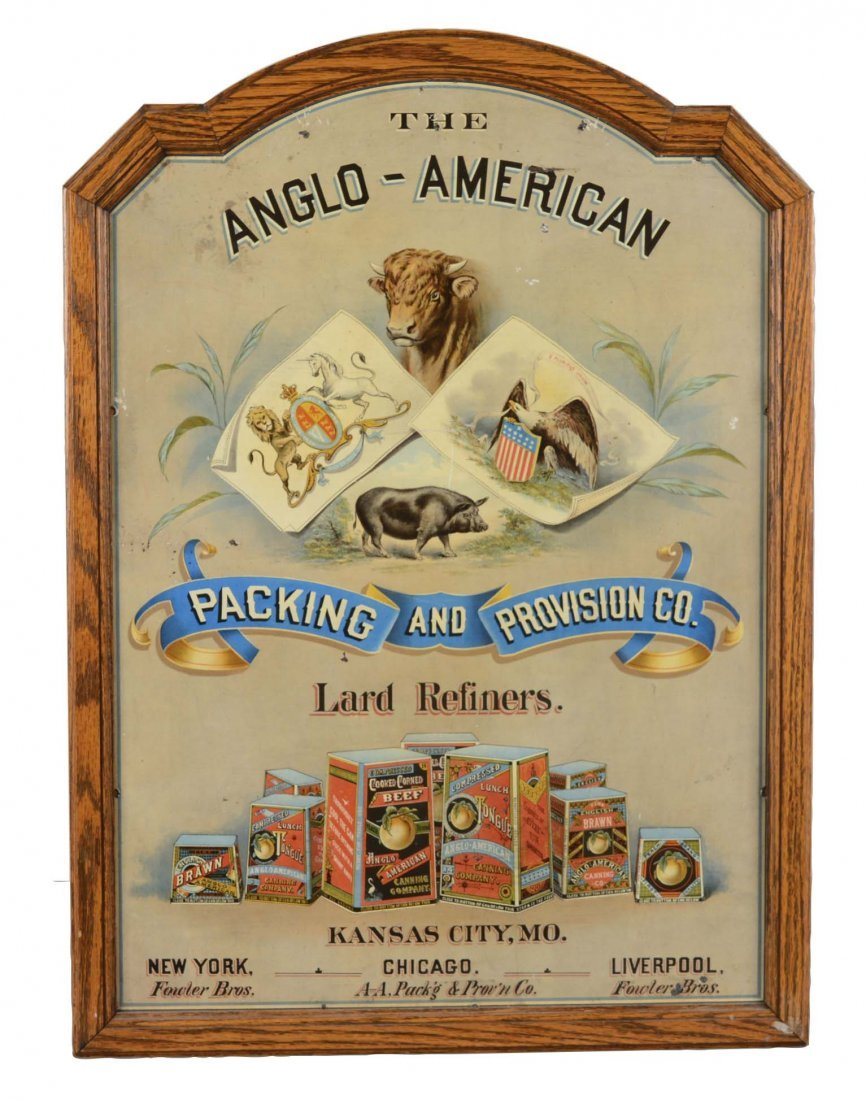 Anglo-American Packing & Provision Advertisement
