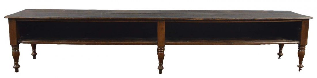 Large Wood Counter