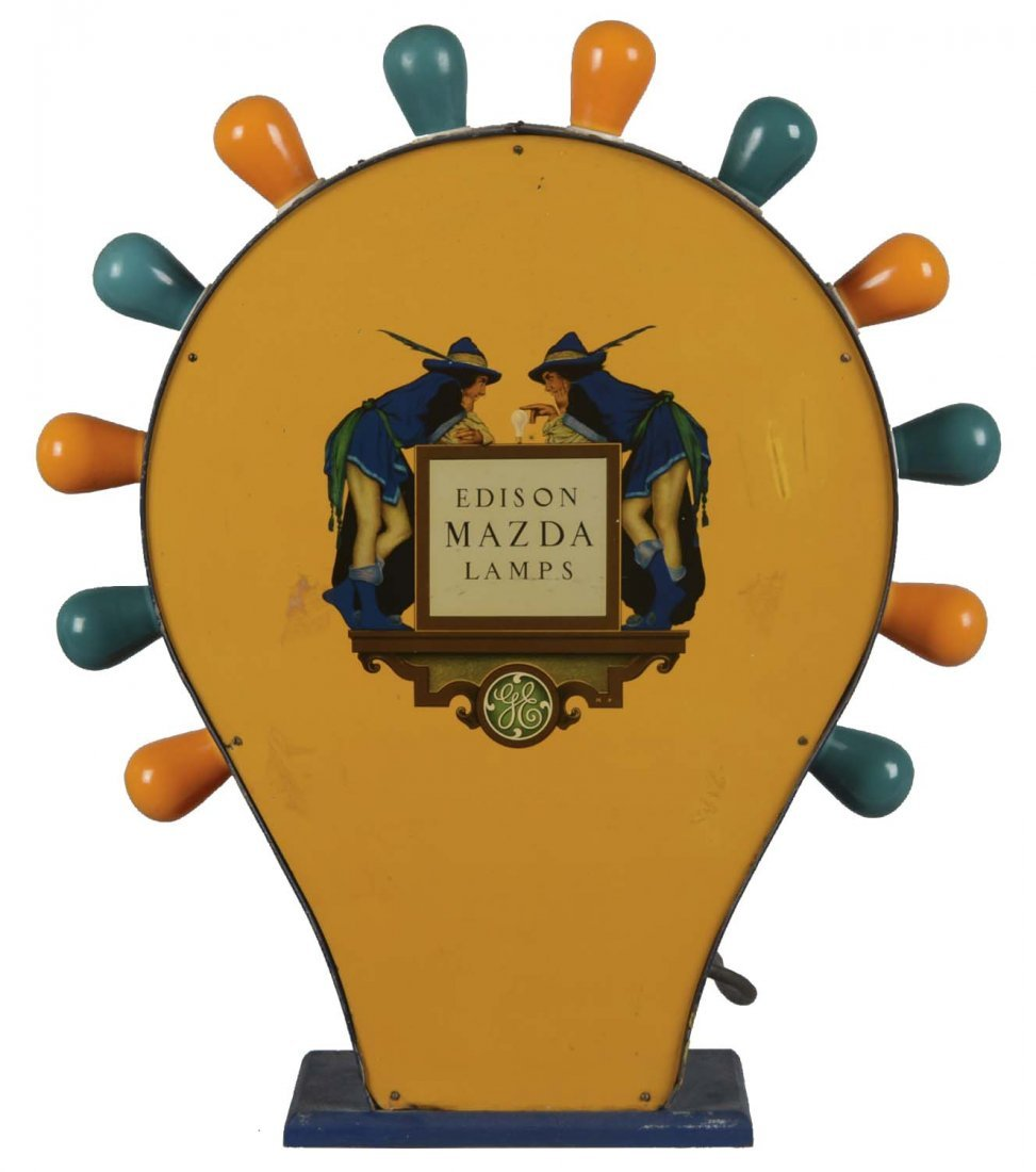 Edison Mazda Lamp Store Display