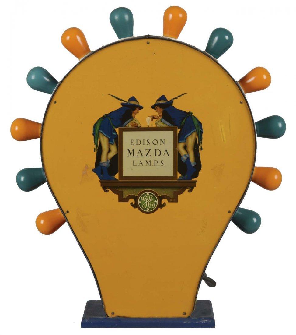 Edison Mazda Lamp Store Display