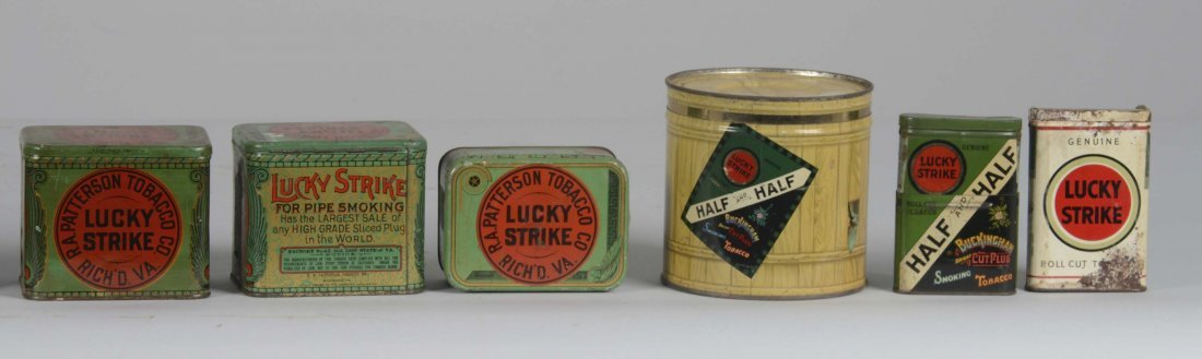 Lot Of 25: Lucky Strike Tobacco Tins - 3