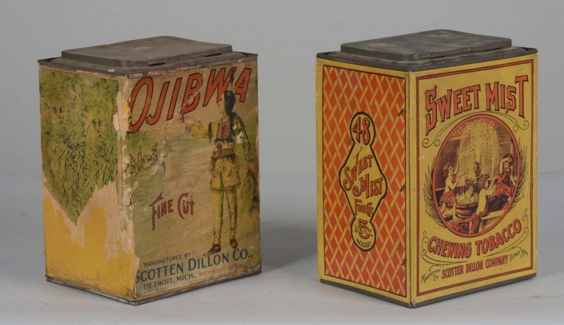 Lot Of 2: Tobacco Tins - 2