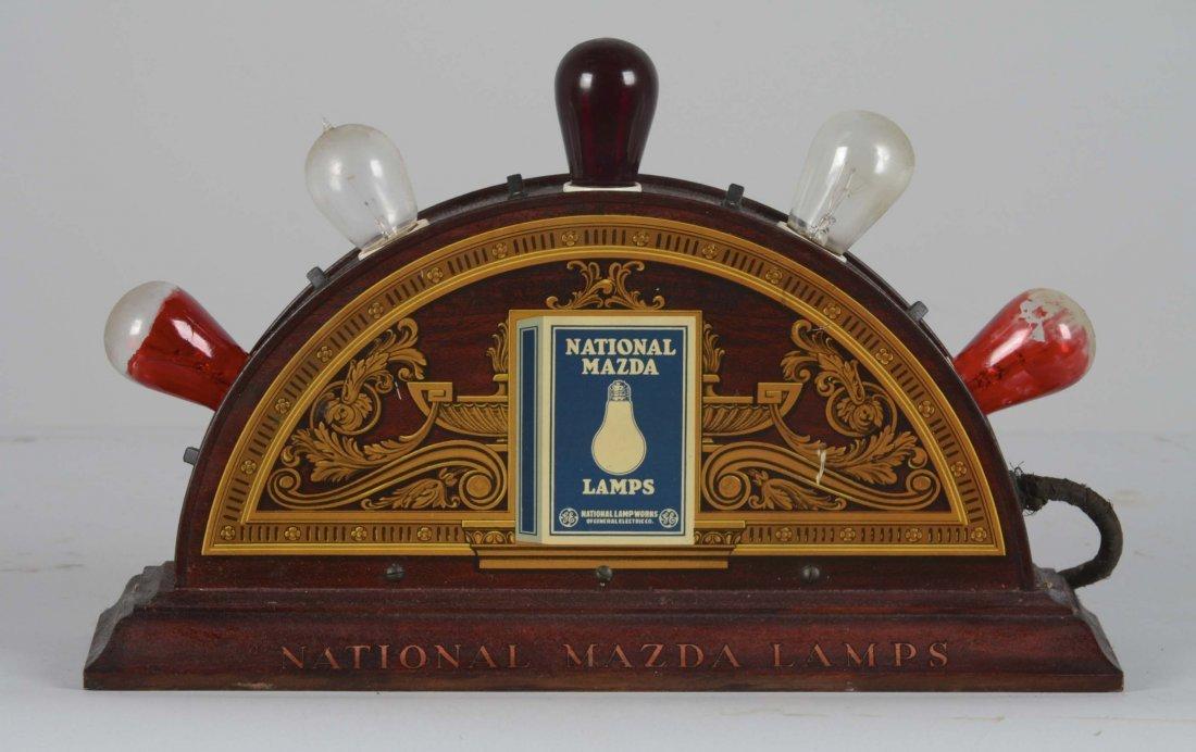 National Mazda Lamps Countertop Display - 2