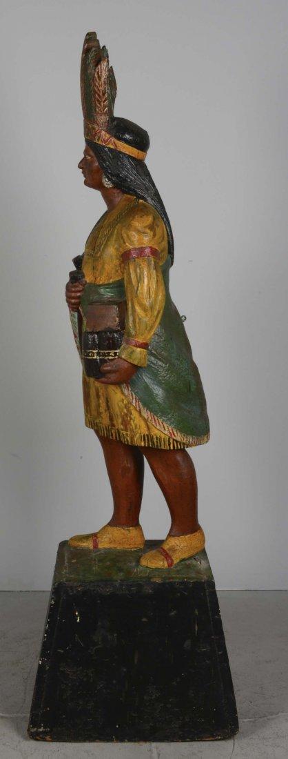Female Cigar Store Indian Tobacco Sculpture - 2