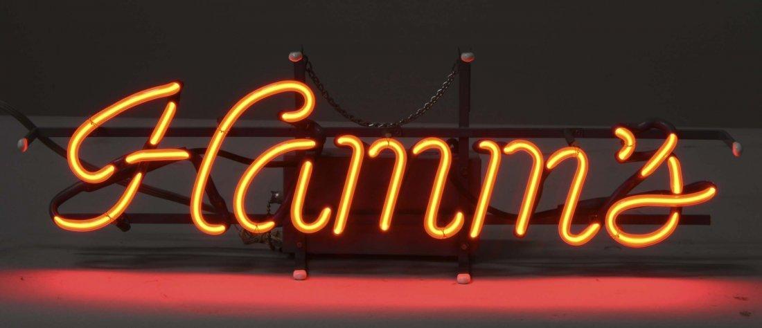 Hamm's Beer Neon Advertising Sign - 2