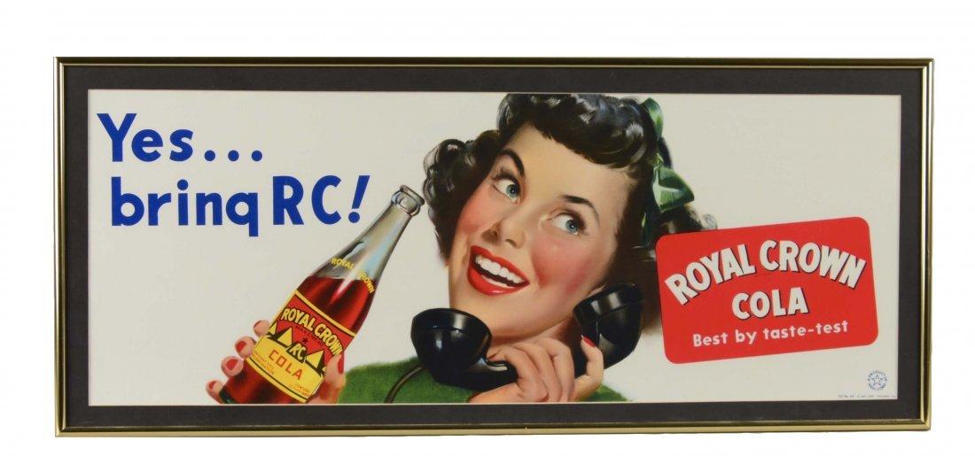 Royal Crown Cola Advertisement Sign