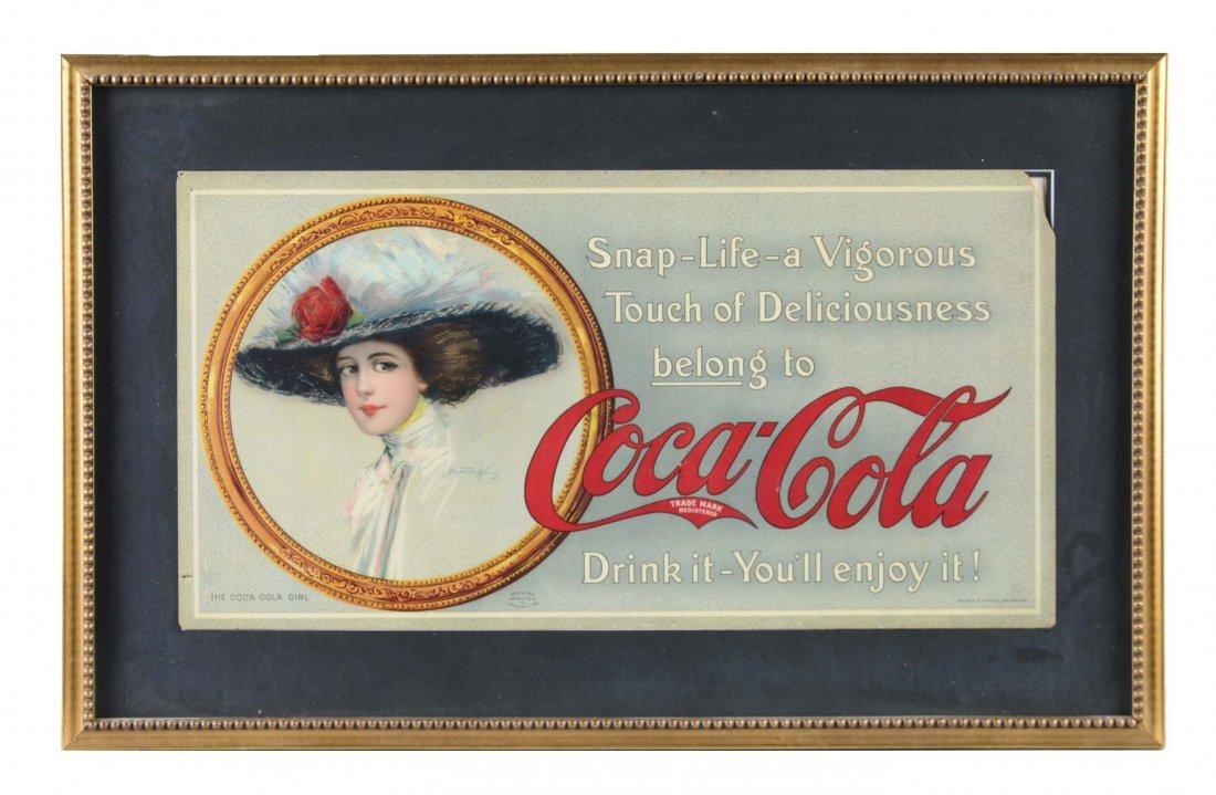 Coca-Cola Advertisement Trolley Sign
