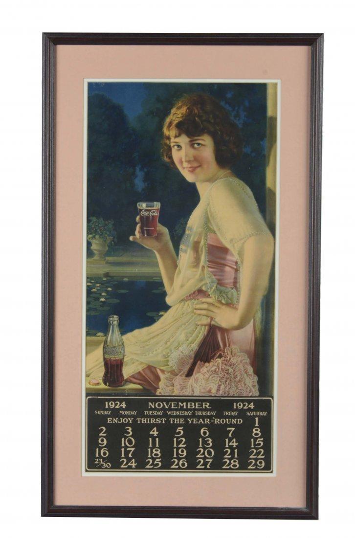 1924 Coca-Cola Calendar