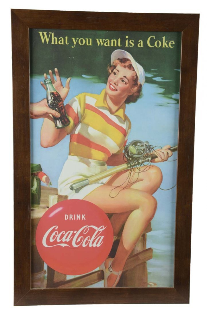 Lot Of 4: Coca Cola Advertising Items