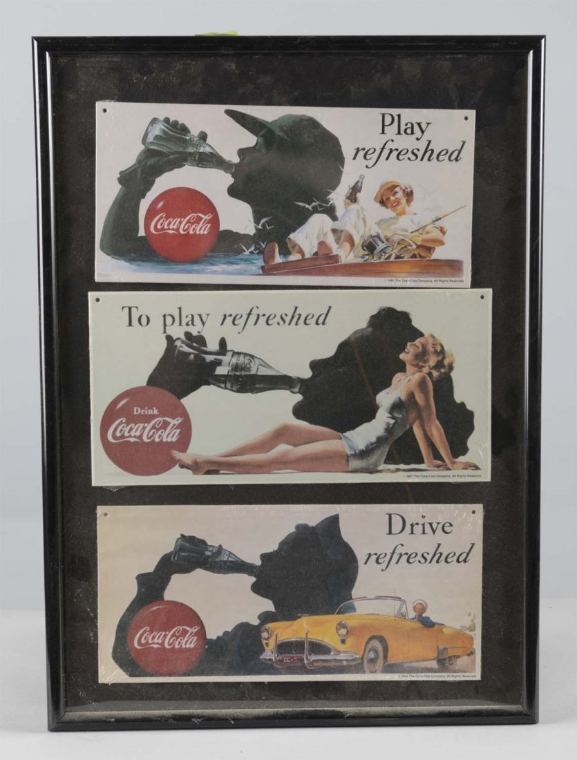 Lot Of 4: Coca Cola Advertising Items - 7