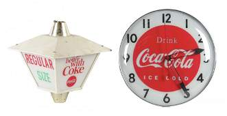 Lot Of 2: Coca-Cola Advertising Items